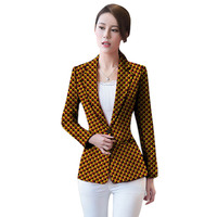 African clothing women's print blazers slim fit Ankara fashion suit jackets custom made wedding jackets formal outfit