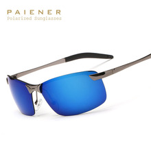 2017 Marca Designer Polarized óculos de Sol Sem Aro dos óculos de Sol das Mulheres Dos Homens Óculos de Lente UV400 Óculos Para Homens oculos de sol masculino