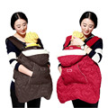 Cotton Baby Carrier Sling Cover For Winter Baby Backpack Carrier Cover Infant Baby Sling Cloak Cape BD06