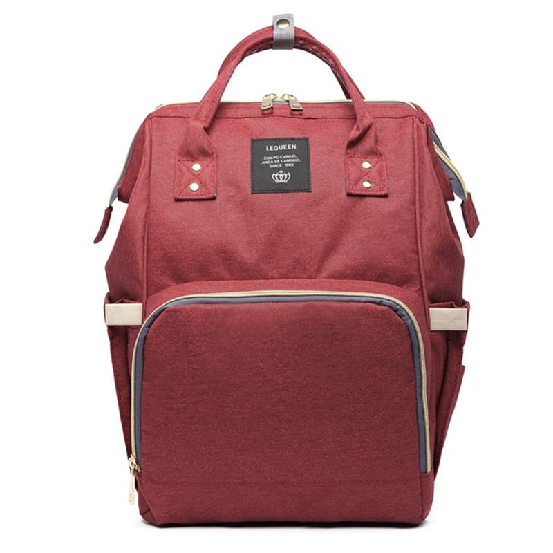 HTB1teGioFGWBuNjy0Fbq6z4sXXaf 23 Colors Fashion Mummy Maternity Nappy Bag Large Capacity Baby Diaper Bag Travel Backpack Designer Nursing Bag for Baby Care