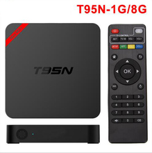 S905X T95N Mini MX + Amlogic Android 6.0 TV BOX 1G/8G 4 K Kodi 16.0 Cargado complementos WiFi 1080i/p Set Top Box Smart TV Media Player
