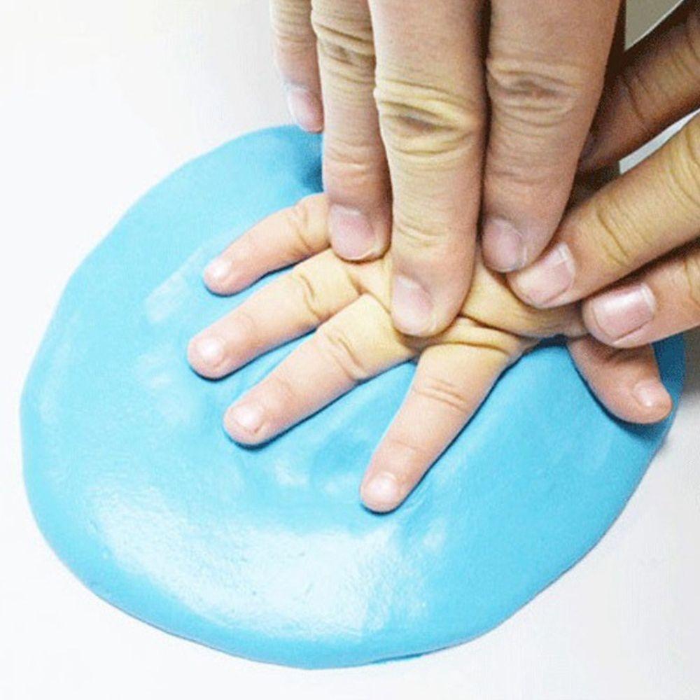 1pack Bag Infant Baby Diy Hand Feet Mud Clay Mold Kids