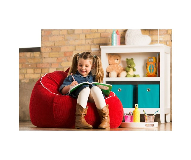 Cover Only Supply Bean Bag For Kids Lazy Boy Sofa Chair 18x32x32 Inches