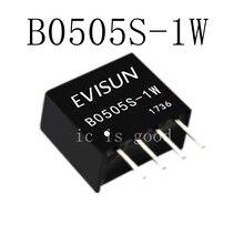 100PCS DC-DC Isolation Power Module B0505S-1W B0505S B0505 SIP-4 5V to 5V
