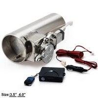 배기 파이프 전기 I 파이프 3.5 '또는 4.0' 전기 컷 아웃 원격 제어 도매 밸브 EP-CUT01G
