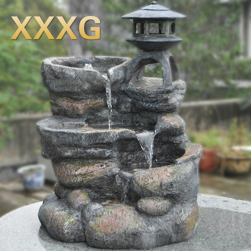 XXXG Large Courtyard Rockery Water Fountain