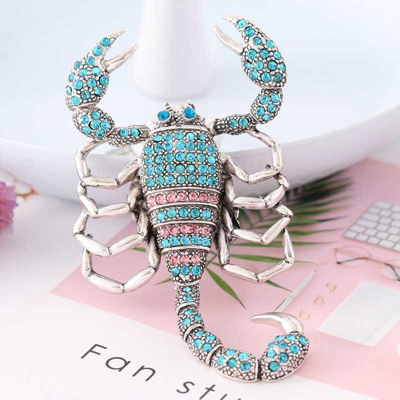 JOORMOM car air outlet fragrance diffuser colorful crystal diamond Scorpion shape air fragrance Interior Accessories ornaments in Ornaments from Automobiles Motorcycles