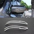 Para Nissan Qashqai J11 segundo 2014 2015 2016 Retrovisor Do Carro espelho Decoração Guarnição Exterior Guarnição Espelho Retrovisor Capa Guarnição tiras