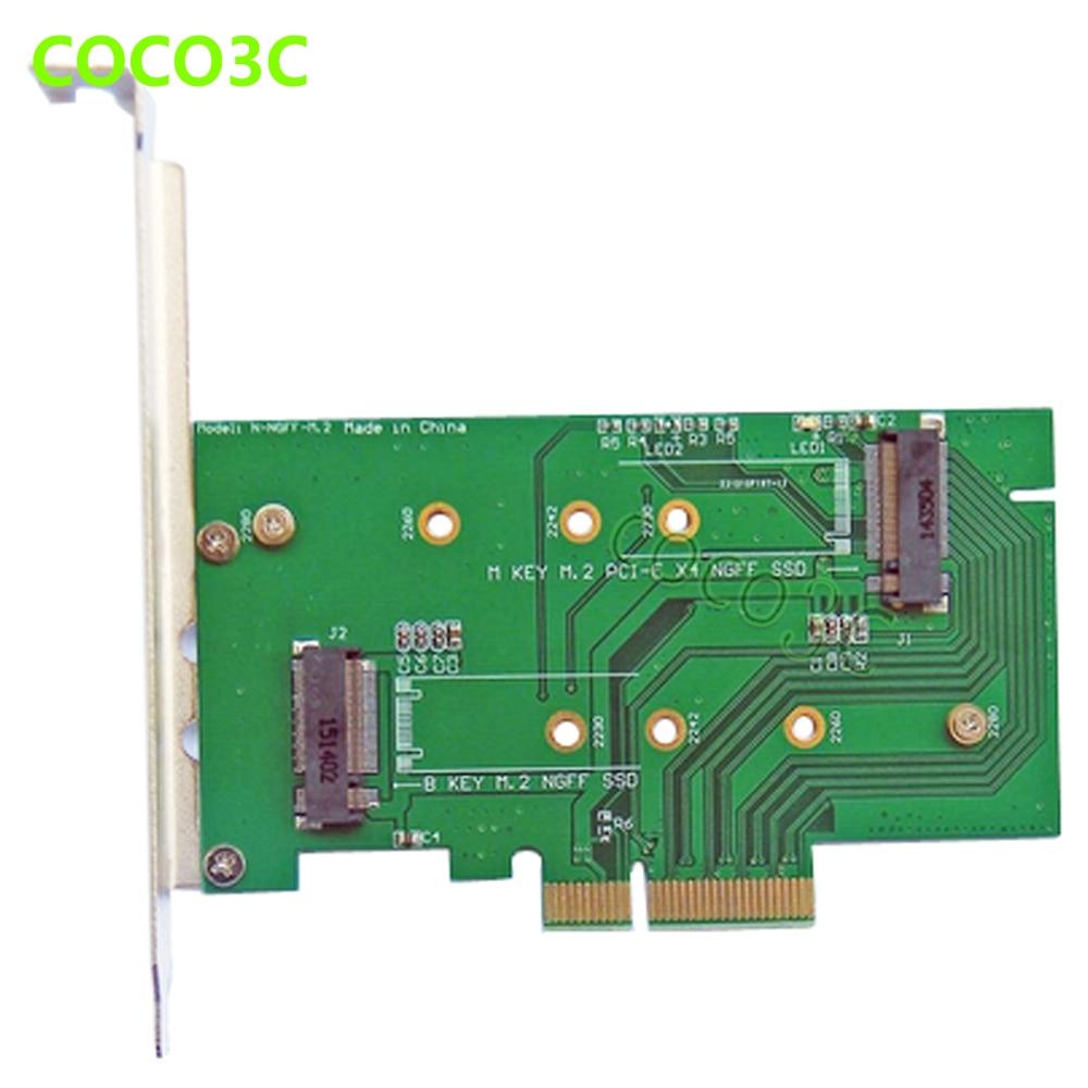 PCI-e x4 έως M Κλειδί NGFF Κάρτα SSD για SAMSUNG - Στοιχεία υπολογιστών - Φωτογραφία 6