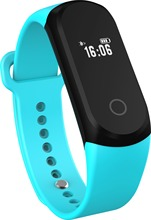 0.42 дюйм(ов) oled-экран A16 сердечного ритма умный Браслет Sleep Monitor Шагомер Bluetooth 4.0 IP67 Водонепроницаемый браслет