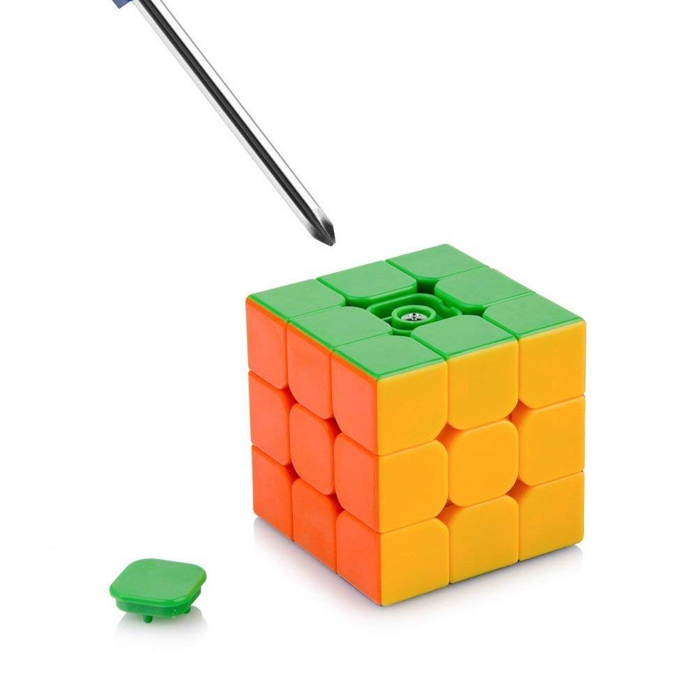 D-FantiX Moyu Aolong V2 Stickerless 3x3 Speed Cube moyu 3x3x3 Magic Cube Puzzles Toys Enhanced Version for Kids Adult Students