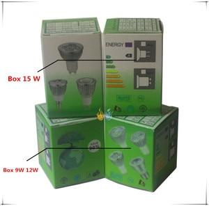 Image 3 - 1pcs 슈퍼 밝은 9W 12W 15W GU10 LED 전구 110V 220V Led 스포트 라이트 따뜻한/자연/멋진 화이트 GU 10 LED 램프