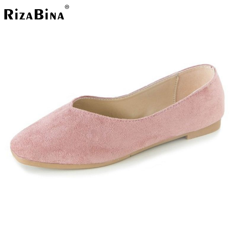 RizaBina Vintage Women Bowknot Flats Shoes Women Round Toe Solid Color Flats Shoes Women Party Shoes Women Footwear Size 35-40 rizabina concise women sneakers lady white shoes female butterfly cross strap flats shoes embroidery women footwear size 36 40