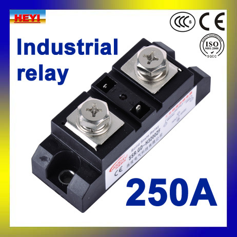 fornecimento de fabrica ssr h3250zf 250a industrial rele de estado solido