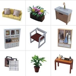 Image 4 - Cutebee أثاث بيت الدمية دمية مصغرة لتقوم بها بنفسك صندوق غرفة منزل مصغر مسرح لعب للأطفال Casa لتقوم بها بنفسك دمية P
