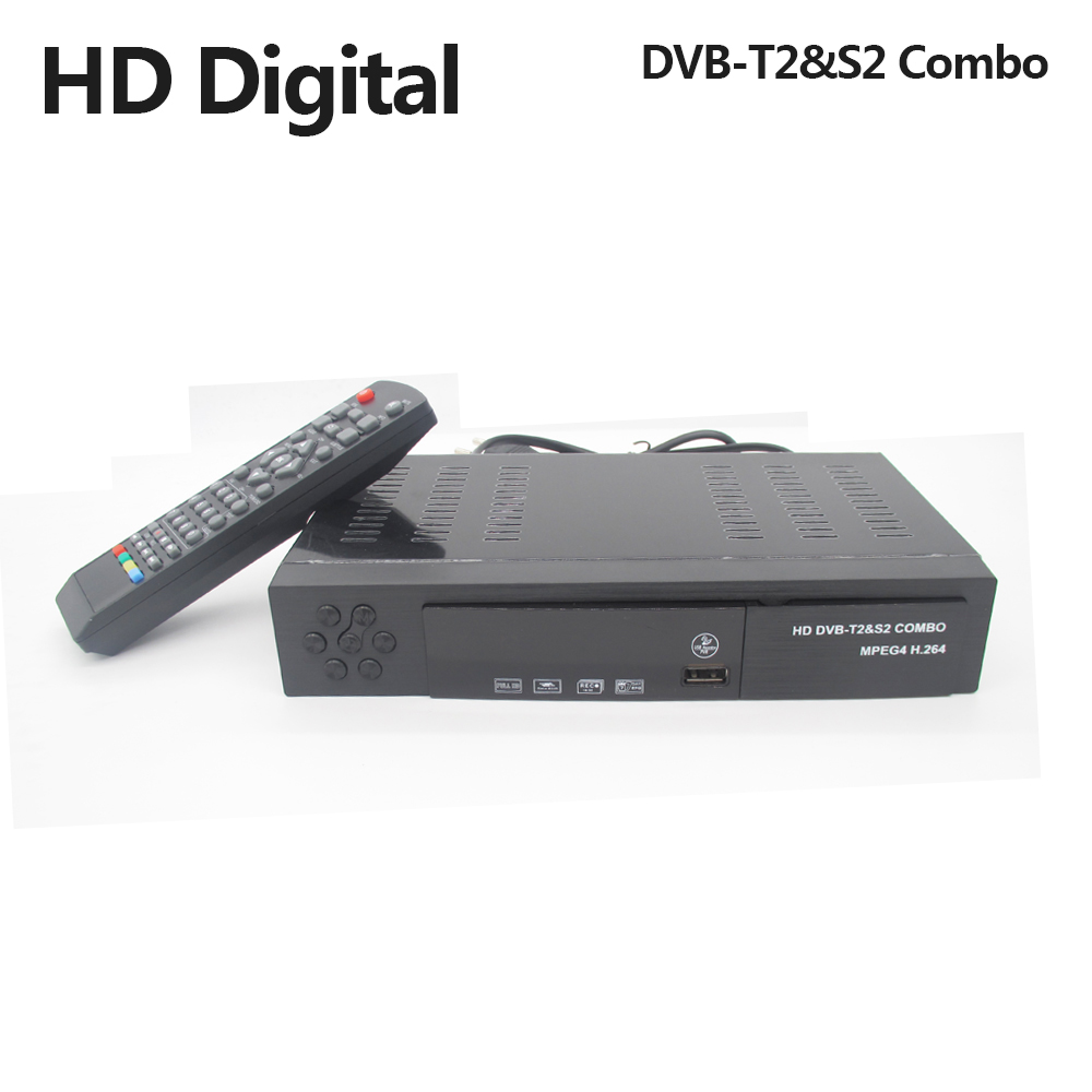 DVB-T2 DVB-S2 Digital Terrestrial Satellite Receiver Combo DVB T2/S2 HD 1080P TV Box H.264/MPEG-2/4 Turner for Russia Europe vmade newest hd digital terrestrial tv receiver dvb t2 set top box mpeg 2 4 h 265 support ac3 youtube pvr hd 1080p dvb t2 tuner