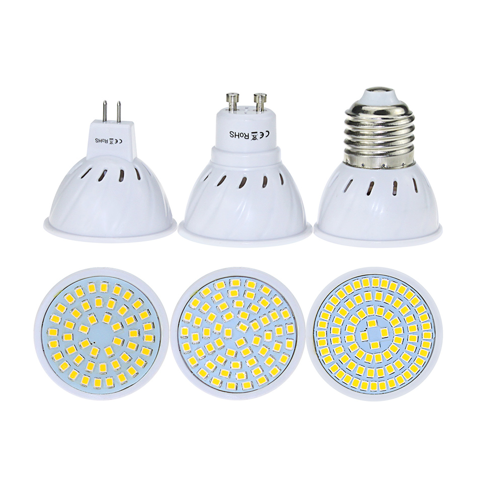 AC220v Bombillas Led Bulb E27 GU10 MR16 4W/6W/8W Mini Led Spot Light for Home/ Living Room Indoor Ampoule Led SMD2835  AC220v Bombillas Led Bulb E27 GU10 MR16 4W/6W/8W Mini Led Spot Light for Home/ Living Room Indoor Ampoule Led SMD2835