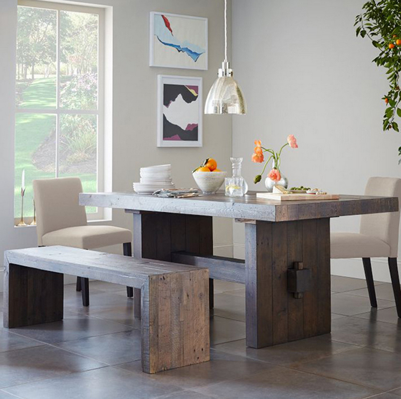 Dining Table And Chair Wooden Home Funiture Living Room