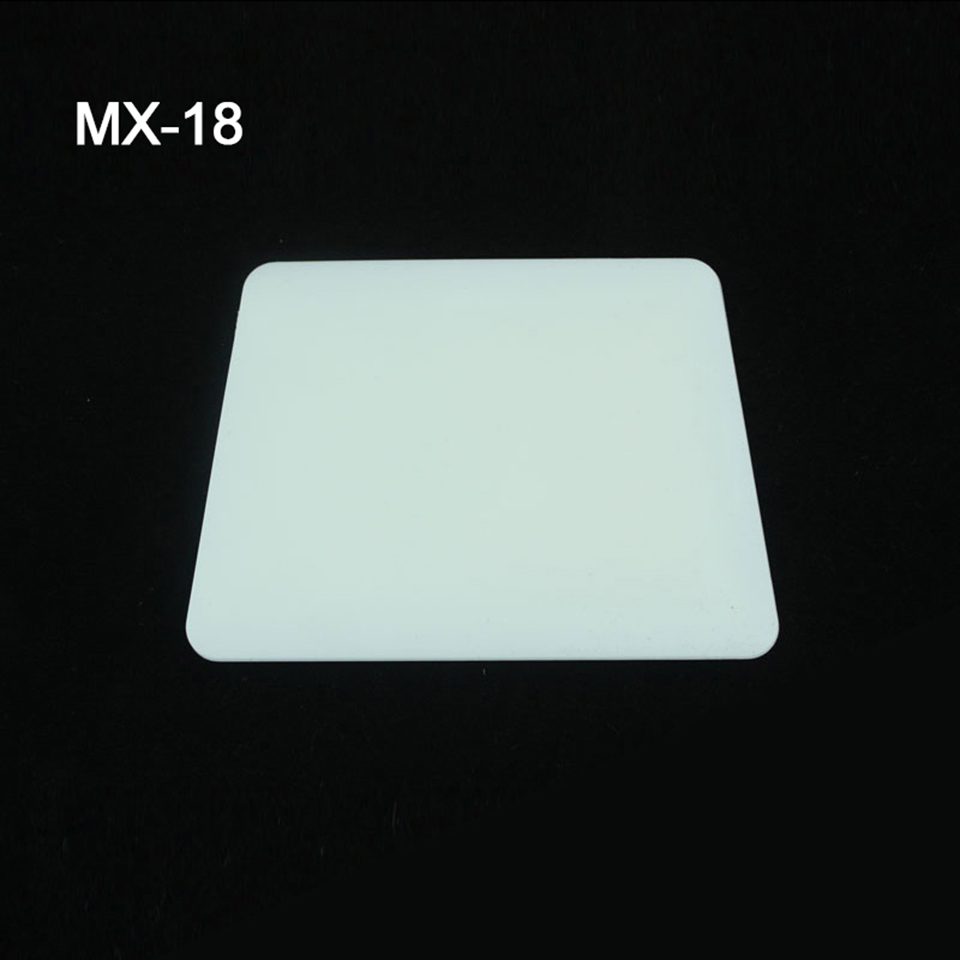 Image 3 - White Hard Card Squeegee, Teflon Hard Card, Teflon Edge Squeegee Graphic Sign Vinyl Lettering Tinting Tool MX 18-in Car Stickers from Automobiles & Motorcycles