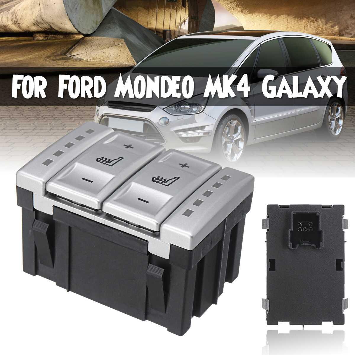 Bouton chauffant pour siège de voiture interrupteur chauffant interrupteur de régulation de la température de chauffage pour Ford pour Mondeo MK3 pour S-MAX