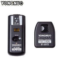лучшая цена Yongnuo RF-602 RF602 N Wireless Remote Flash Trigger Transimitter Receiver For Nikon D90/D7000/D600/D3100/D5100/D7100/D80/D3
