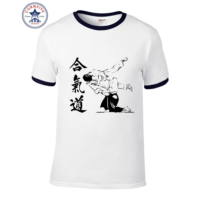 HTB1teJohh3IL1JjSZPfq6ArUVXa4 - t shirt aikido 2017 Teenage Youth Funny Cotton for men