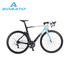 Whosale DIY carbon complete road bicycle with carbon road bike frame RAA carbon Road Bike SOBATO