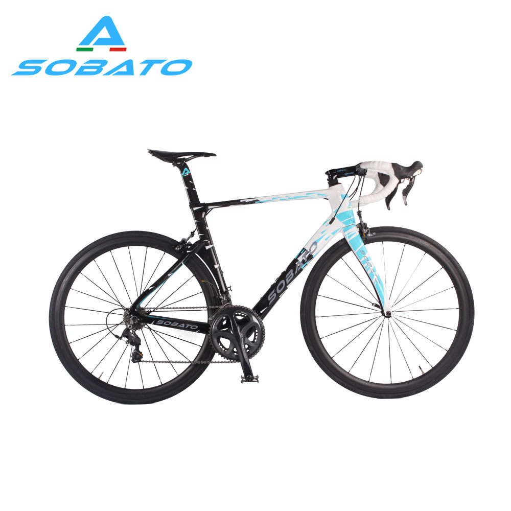Whosale DIY carbon complete road font b bicycle b font with carbon road bike frame RAA