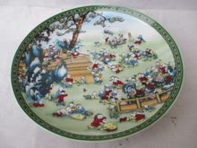 China ceramic color painting porcelain plate figure (one hundred children)//