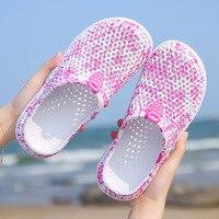 Женские повседневные сабо, дышащие пляжные сандалии 1