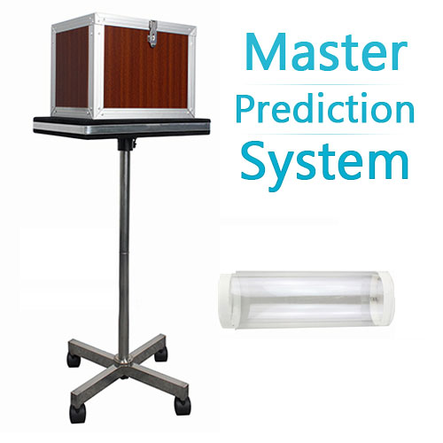 Master Prediction System Wood Finish White stage magic trick mentalism Accessories illusions close up Fun Magic