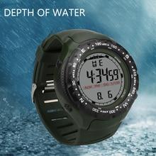 купить Military Casual Sports LED Watch Square shape Retro Display Date Quartz Watch Electronics Men Clock Wristwatch Relogio Masculino дешево
