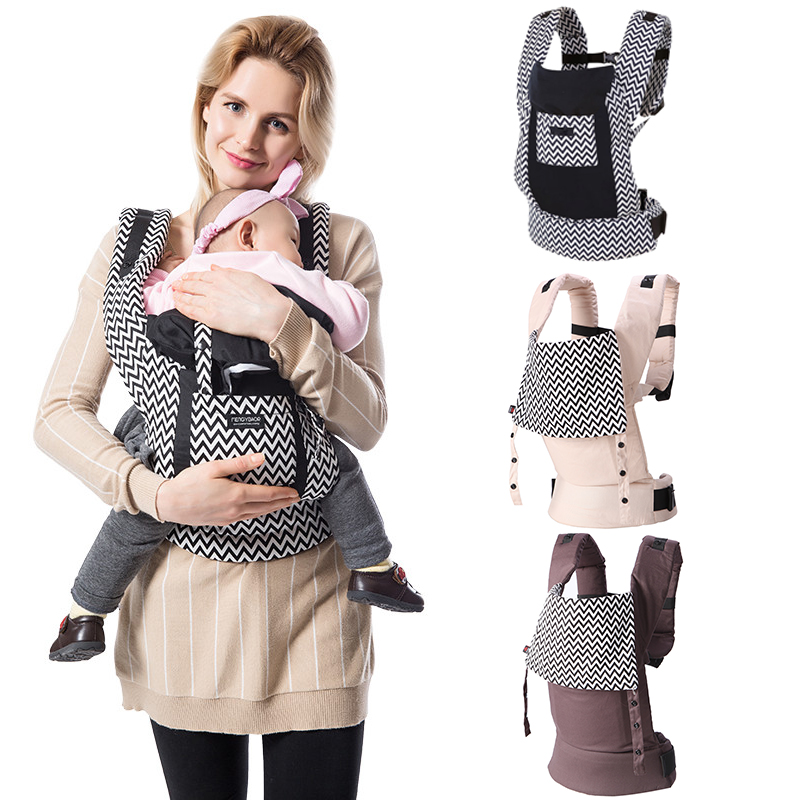 Ergonomic Baby Carriers Backpacks 5-36 Months Portable Baby Sling Wrap Full Cotton Infant Newborn Baby Carrying Belt For Mom Dad