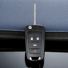 купить 4 Button Auto Remote Key Case Shell Replacement Entry Fob For Buick LaCrosse Regal Verano GMC Terrain Car Covers дешево