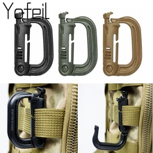 Clip Carabiner-Keychain Ring-Buckle Locking-Ring ITW Plastic Molle Fastener 5PCS Bag