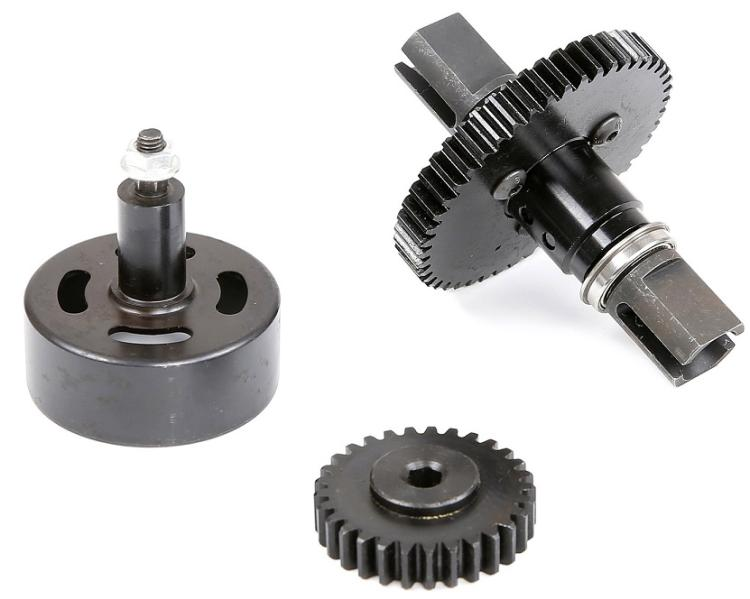 metal super speed 29T 48T gear kit with cluch bell for losi 5ive-t 5t rovan LT kingmotor truck partmetal super speed 29T 48T gear kit with cluch bell for losi 5ive-t 5t rovan LT kingmotor truck part