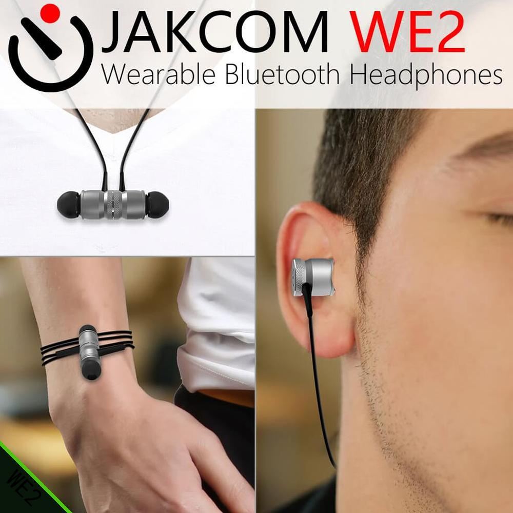 JAKCOM WE2 Smart Wearable Earphone Hot sale in Smart Accessories as dw leather watchband nfc