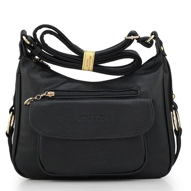 2017 NOVA Nova chegada Rebite bloqueio faux leahter presente para a tua mãe moda sacos mulheres mensageiro mulheres bolsas de ombro cruz corpo
