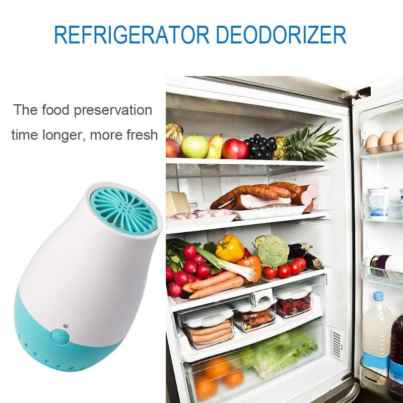 USB Ozone Freshener Generator Air Purifier Ozone Ionic Air Cleaner Diffuser Smoke Odor Bacteria Remover Refrigerator Deodorizer commercial 3500mg h ozone generator air purifier machine odor smoke industrial