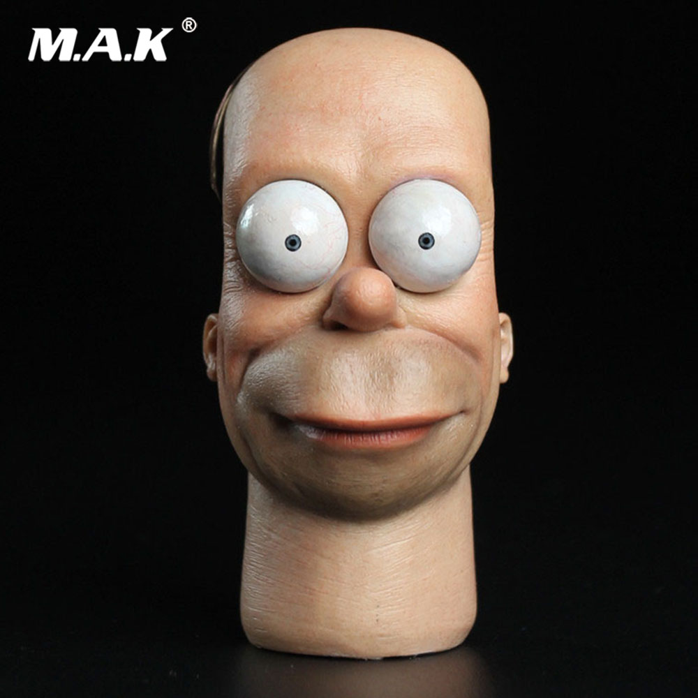 1/6 Scale Male Head Carved Cartoon Uncle Movable Eye Head Sculpt SDH008 Model for 12 inches Man Action Figure Body1/6 Scale Male Head Carved Cartoon Uncle Movable Eye Head Sculpt SDH008 Model for 12 inches Man Action Figure Body