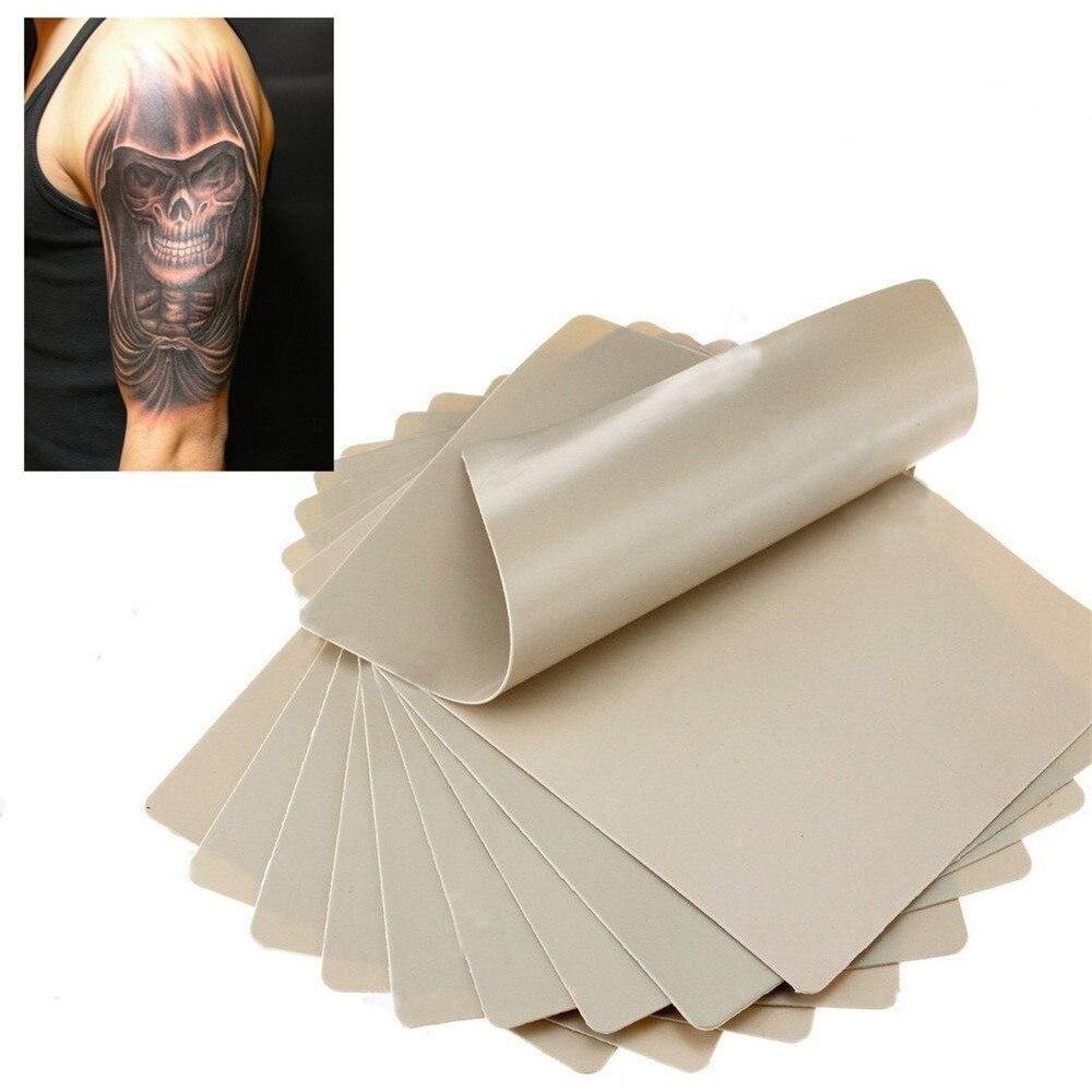 2018 10x Lernen Blank Tattoo Tätowierung Gefälschte Praxis Haut 20x15 Cm Synthetische 0816