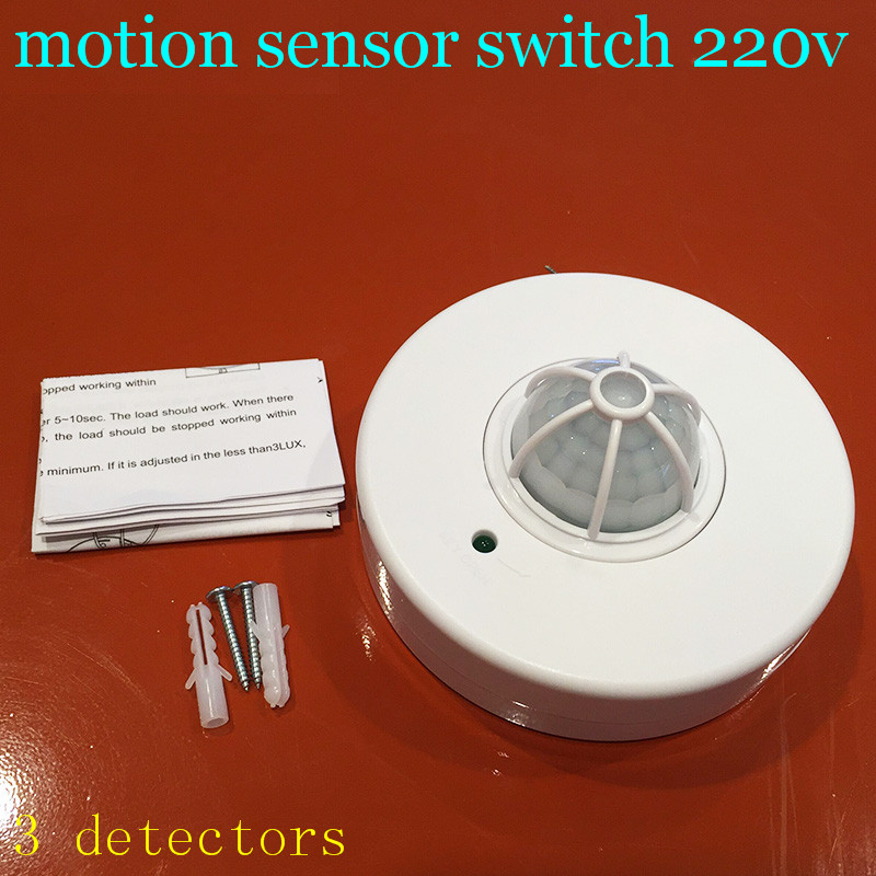 Wholesale china 3 detector pir 360 Degree switch motion sensor 220v pir motion sensor switch for led light pir Y1 игровые фигурки 1 toy набор фигурок в мире животных лягушки 12 шт