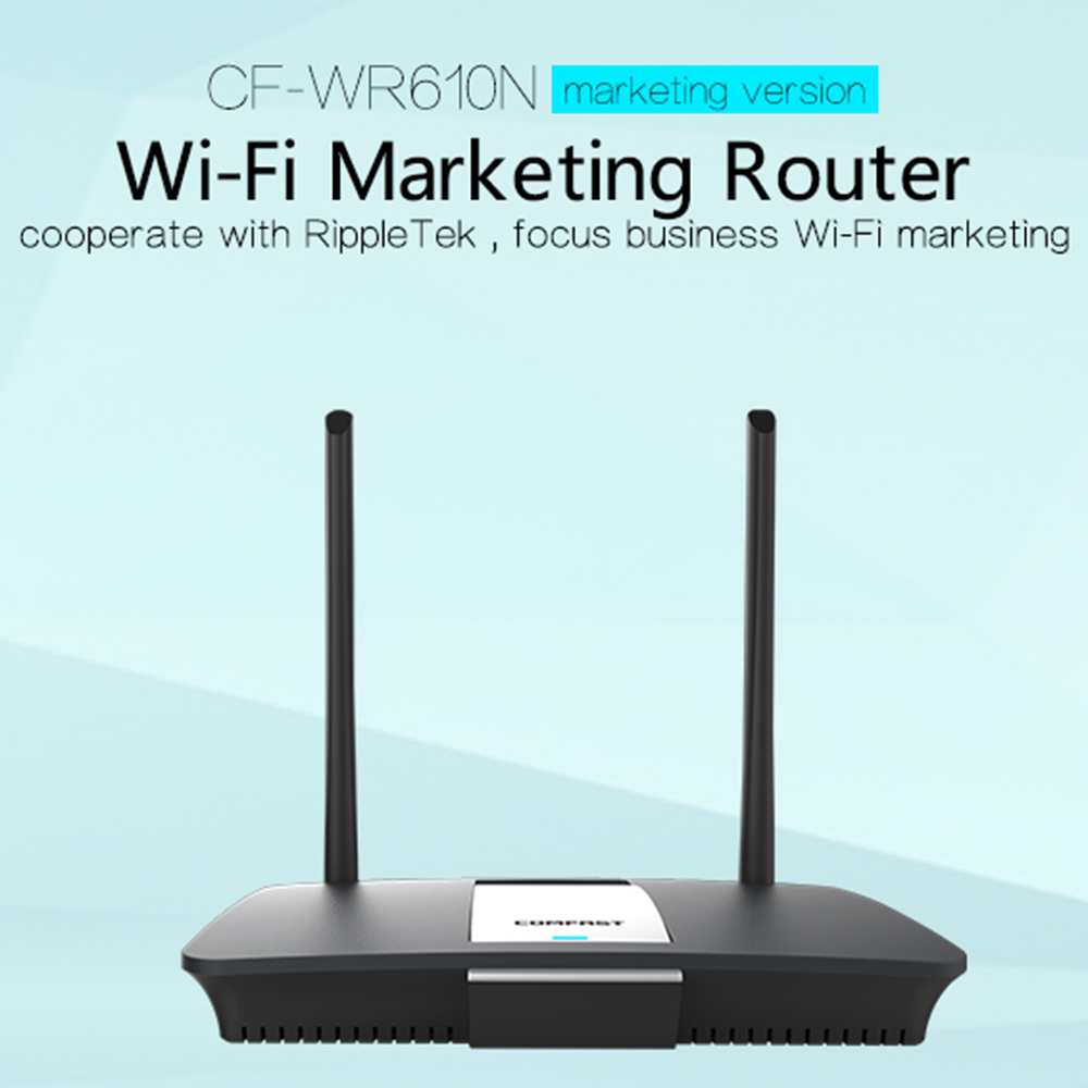 COMFAST CF-WR610N 300 Mbps Router Wireless 14dBi Antenna Wireless Router 2.4G QCA9531 Chipset for home office work WiFi network