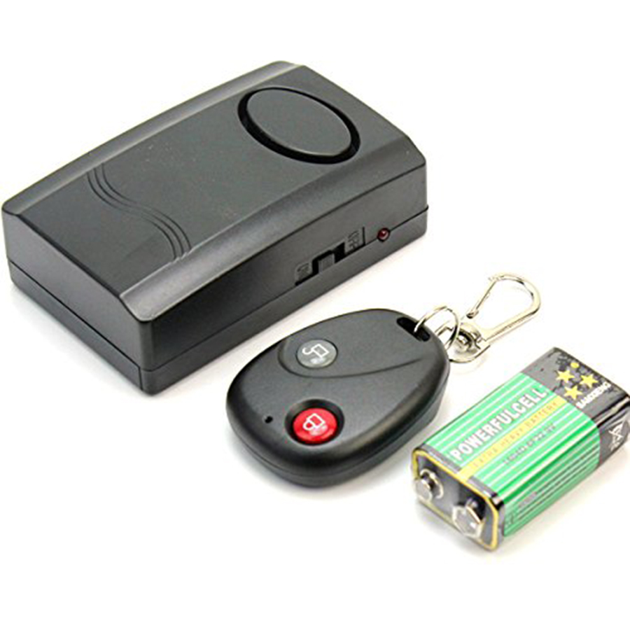 Wireless Car Motor Motorcycle Motorbike Scooter Anti-theft Security Safety Alarm Remote Control Vibration Scooter Alarm System