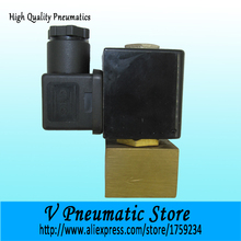 1/8 inch 2/2 way solenoid control brass material electric water valve