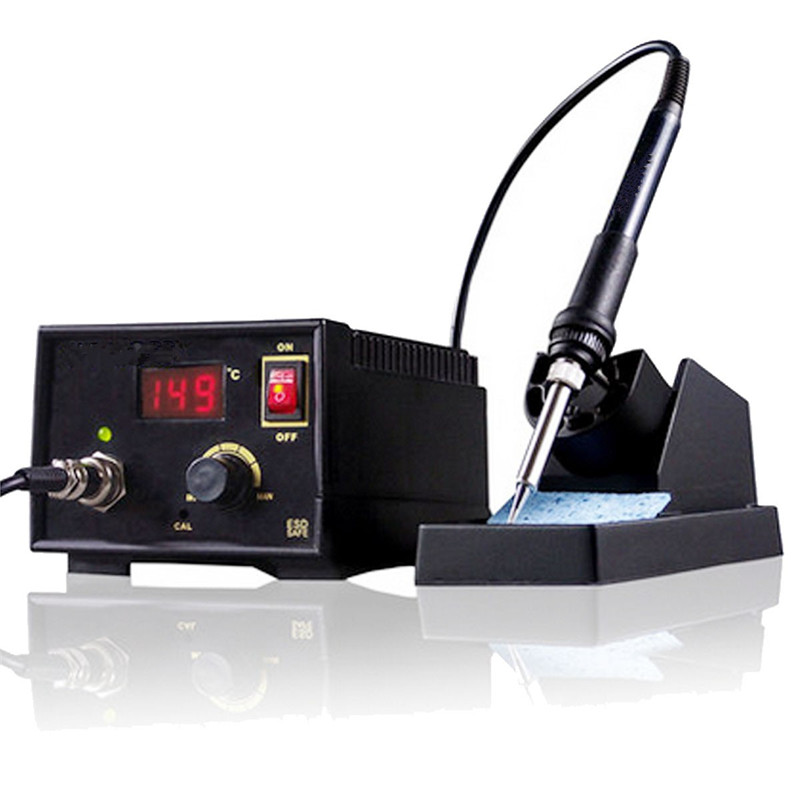 Electric Soldering Irons 110V-220V 967 Electric Rework Soldering Station Iron LCD Display Desoldering SMD High Quality Tool