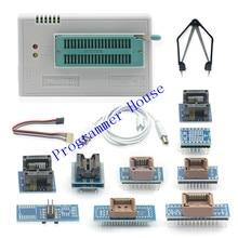 2020 V10.37 minipro TL866II Plus szybki uniwersalny programator Bios USB + 10 pozycji adaptery IC lepsze niż TL866A TL866CS