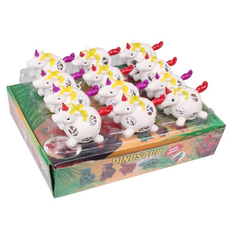 1 шт. Новый Забавный антистресс Виноградный Шар Единорог ручной зажим детская маленькая игрушка-случайный стиль
