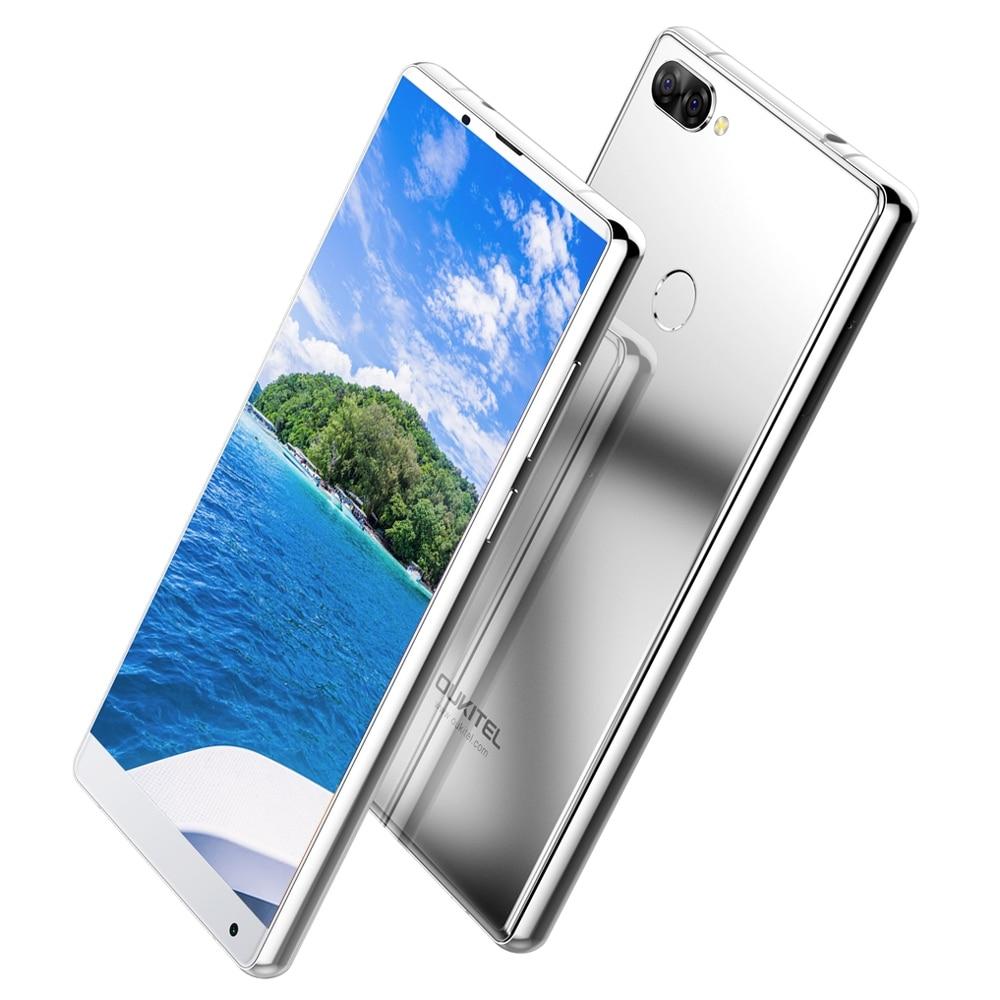Oukitel MIX 2 Android 7.0 4g Téléphone Portable Helio P25 octa-core 6g + 64g 5.99 FHD 18:9 Affichage 4080 mah D'IDENTITÉ D'empreintes Digitales Téléphone Portable