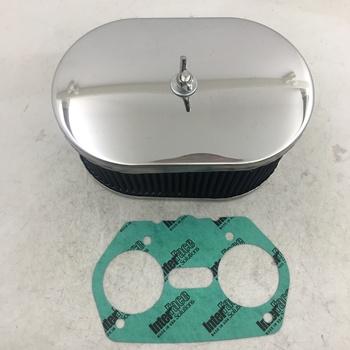 Zestaw filtrów powietrza dla FAJS EMPI WEBER IDF DELLORTO DRLA 36 40 44 45 48 gaźnik gaźnik AIR FITLER tanie i dobre opinie SherryBerg A11-2 METAL AIR FILTER 202-403-085 FRONT